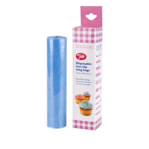 Tala Roll of Blue Non Slip Disposable Piping Icing Bags
